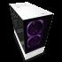 NZXT Case H510 Elite Matt White With Tempered Glass 2 AER RGB Fans 1 ARGB LED Strip CA-H510E-W1