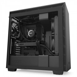 NZXT Case H710 Matt Black With Tempered Glass  CA-H710B-B1