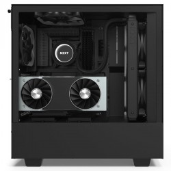 NZXT Case H510i Elite Matt Black With Tempered Glass Fan Controller 2 ARGB LED Strip CA-H510i-B1