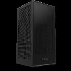 NZXT Mini-ITX Case H1 Matte Black With 650W 80+ Gold SMPS, Liquid Cooler AIO CA-H16WR-B1
