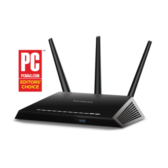 Netgear R7000 Nighthawk AC1900 Smart WIFI Router Dual Band Gigabit Deltapage.com