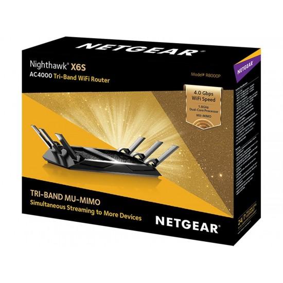 Netgear R8000P Nighthawk  X6S AC4000 Tri-Band  WIFI  Router Deltapage.com