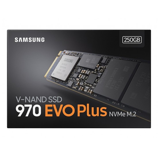 Samsung 970 EVO Plus 250 GB M.2 PCIe NVMe SSD MZ-V7S250BW Deltapage.com
