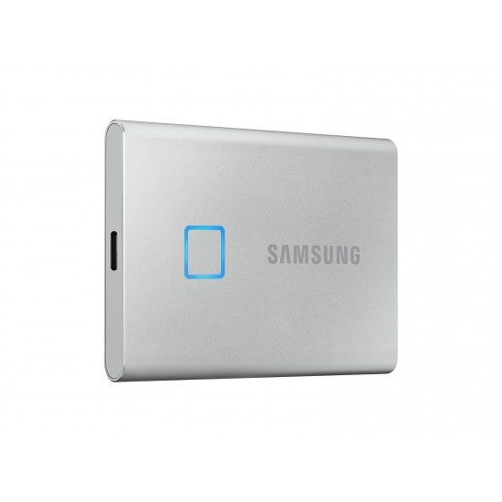 Samsung Portable SSD T7 Touch USB 3.2 500GB (Silver)