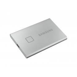 Samsung Portable SSD T7 Touch USB 3.2 500GB (Silver) MU-PC500S/WW