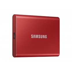 Samsung Portable SSD T7 USB 3.2 500GB (Red) MU-PC500R