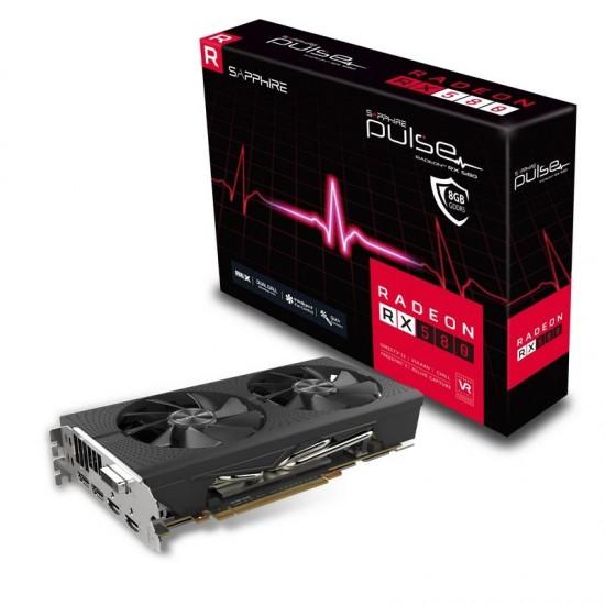 Sapphire Pulse Radeon RX 580 OC 8GB Deltapage.com