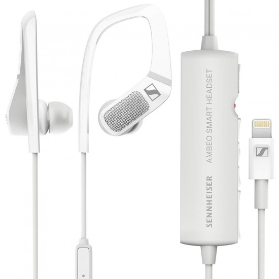 Sennheiser AMBEO Smart Headset (W) Mobile Binaural Recording Headset With Mic Deltapage.com