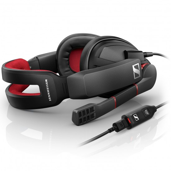 Sennheiser GSP 350 Gaming Headset With Mic For Pc Mac Ps4 And Multi-Platform Deltapage.com