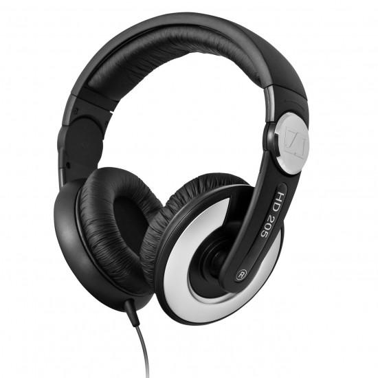 Sennheiser HD 205 II WEST Over Ear Headphones Deltapage.com