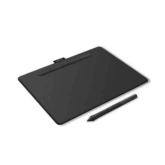 Wacom CTL-6100WL/K0-CX New Intuos Medium Bluetooth Black Deltapage.com