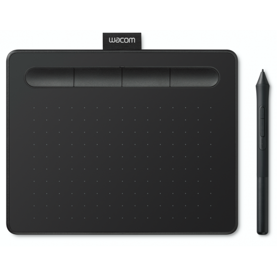 Wacom CTL-4100WL/K0-CX New Intuos Small Bluetooth Black Deltapage.com