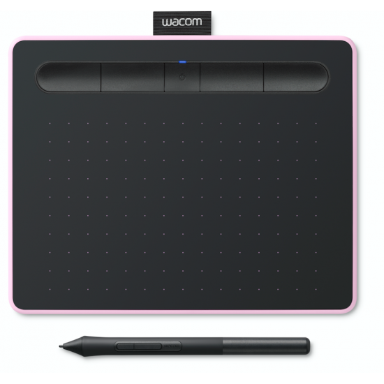 Wacom CTL-4100WL/P0-CX New Intuos Small Bluetooth Berry Deltapage.com