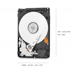 "WD 5400 RPM 2.5"" Laptop HDD 1TB - WD10JPVX"