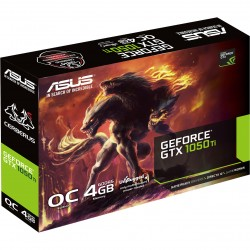 Asus Nvidia GeForce GTX 1050TI OC 4GB DDR5 CERBERUS
