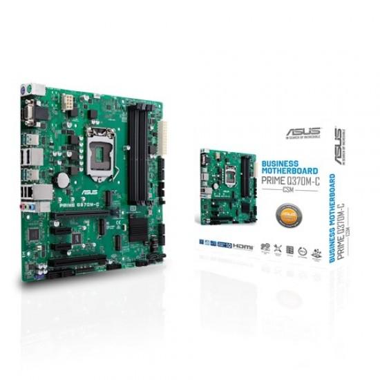 Asus MotherBoard Q370 Chipset PRIME-Q370M-C/CSM Deltapage.com