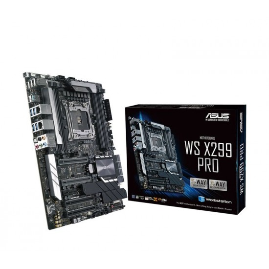 Asus MotherBoard X299 Chipset WS-X299-PRO Deltapage.com