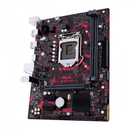 Asus MotherBoard B365 Chipset EX-B365M-V