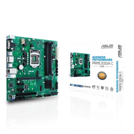 Asus MotherBoard B365 Chipset PRIME-B365M-C/CSM Deltapage.com