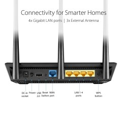 Asus RT-AC66U AC1750 Dual-Band Gigabit Router