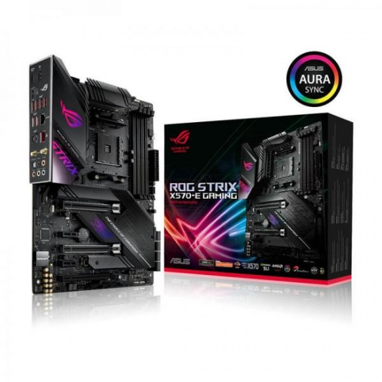 Asus MotherBoard X570 Chipset STRIX-X570-E-GAMING Deltapage.com