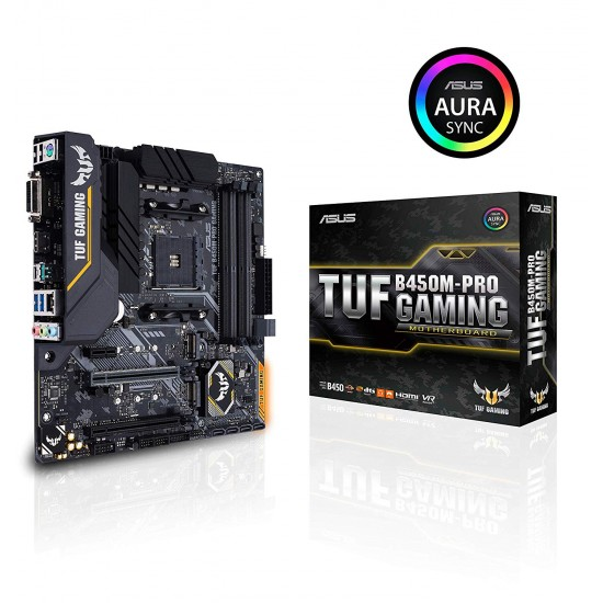 Asus MotherBoard B450 Chipset TUF B450M PRO GAMING