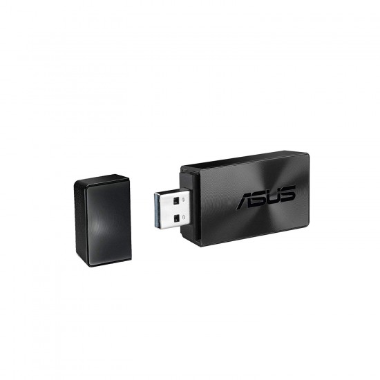 Asus USB-AC55-B1 AC1300 Dual-Band Wi-Fi USB Adapter Deltapage.com