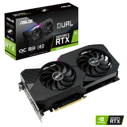 Asus Nvidia GeForce RTX 3060Ti 8GB DDR6 OC DUAL-RTX3060TI-O8G