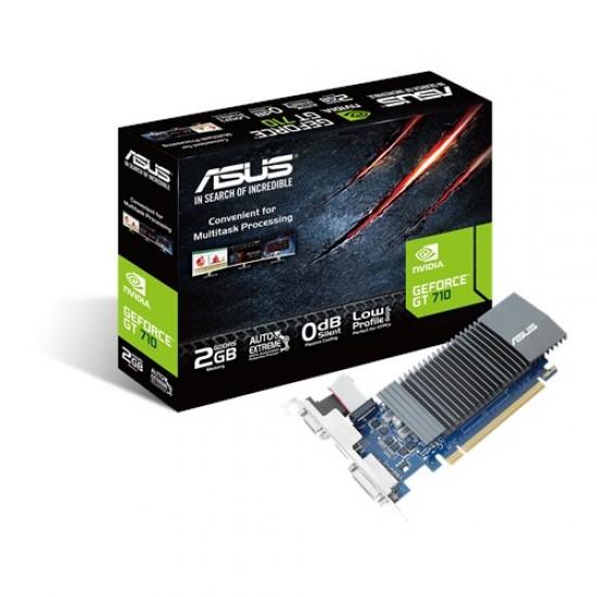 Asus Nvidia Geforce GT 710 2GB DDR5 GT710-SL-2GD5-BRK