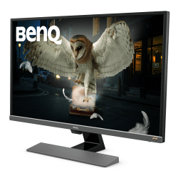 "Benq Monitor EW3270U 32"" Premium Series 4K, HDR, 1Ms, FreeSync, DP, Type C, Speaker"