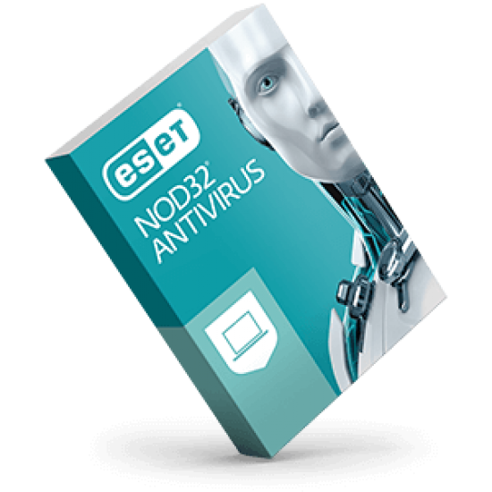 ESET NOD32 Antivirus 1 User 1 Year Deltapage.com