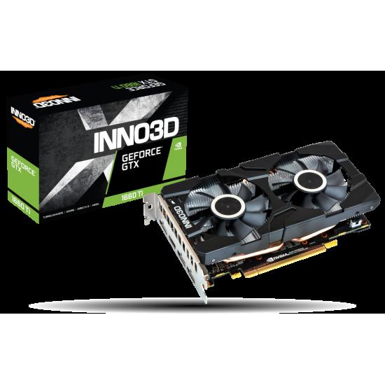 Inno3D GeForce GTX 1660 TWIN X2 6GB GDDR5 N16602-06D5-1521VA15