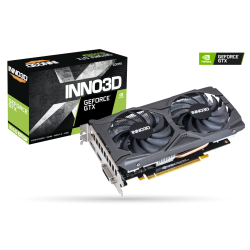 Inno3D GeForce GTX 1650 Super Twin X2 OC 4GB GDDR6 N165S2-04D6X-1720VA31