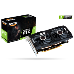 Inno3D GeForce RTX 2060 Twin X2 6GB GDDR6 N20602-06D6-1710VA15L