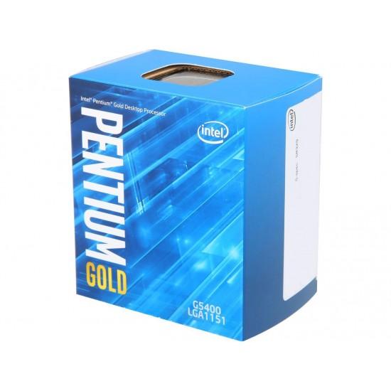 Intel Dual Core G5400 Gold Deltapage.com