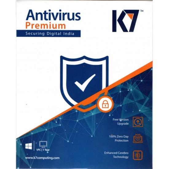 K7 Anti Virus 1 PC 1 Year