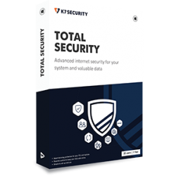 K7 Total Security 3 PC 1 Year Validity