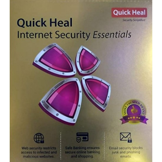 Quick Heal Internet Security Essentials 1 PC 1 Year Deltapage.com