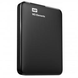 WD Element USB 3.0 Portable External HDD Black 2TB - WDBU6Y0020BBK-EESN