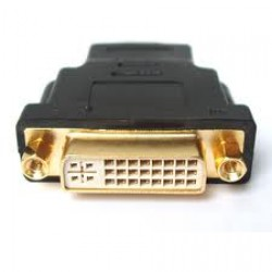 HDMI Male to DVI-D 24+1 Female Convertor