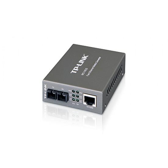 TP-Link : MC110CS :10/100M RJ45 to Single-Mode SC Fiber Converter Deltapage.com