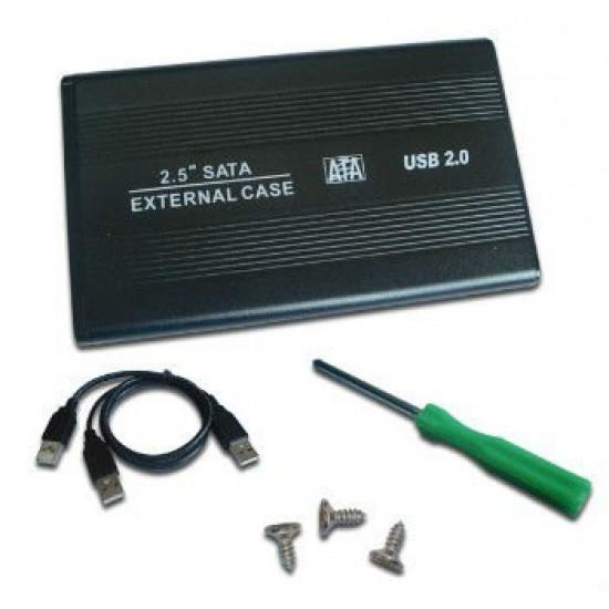 "Piranah 2.5"" SATA Case for Laptop Hard Disk Deltapage.com"