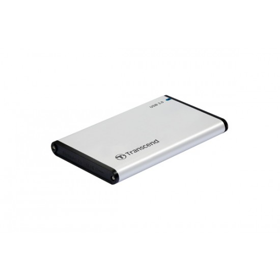 """Transcend Storejet USB 3.0 Case for 2.5"""" SATA Drive Deltapage.com"""