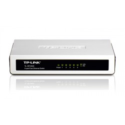 TP-Link : TL-SF1005D : 5-port 10/100M mini Desktop Switch