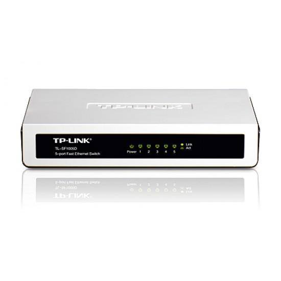 TP-Link : TL-SF1005D : 5-port 10/100M mini Desktop Switch Deltapage.com