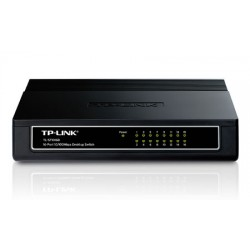 TP-Link : TL-SF1016D : 16-port 10/100M Desktop Switch