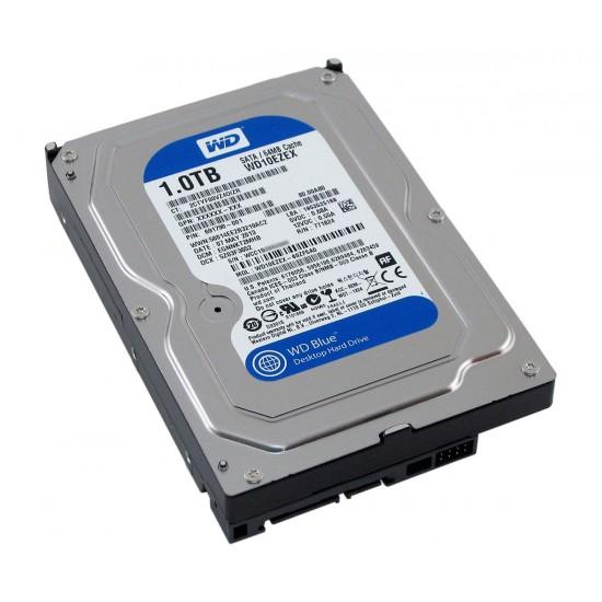 "WD Blue 7200 RPM 3.5"" Desktop HDD 1TB - WD10EZEX Deltapage.com"