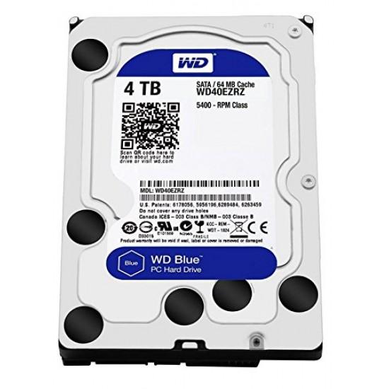 """WD Blue 5400 RPM 3.5"""" Desktop HDD 4TB - WD40EZRZ Deltapage.com"""