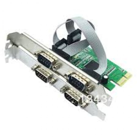 4 Port Serial PCI Express Card Deltapage.com