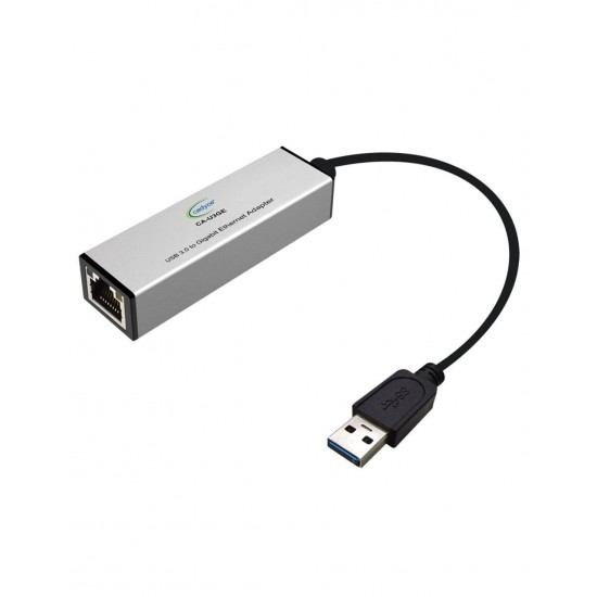 Cadyce USB 3.0 to Gigabit Ethernet Adapter (Supports for Mac O/S) CA-U3GE Deltapage.com